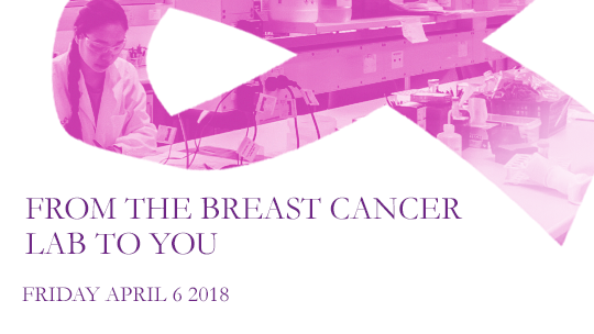 Event: From the Breast Cancer Lab to You