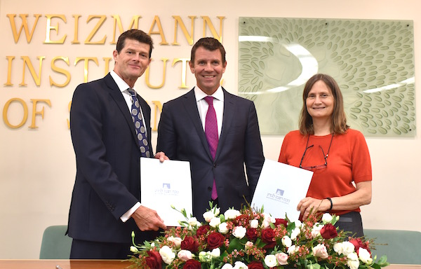 Joint Sydney research centre in the works for Garvan and Weizmann Institutes