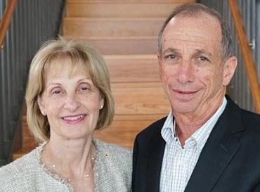 Jillian Segal and John Roth
