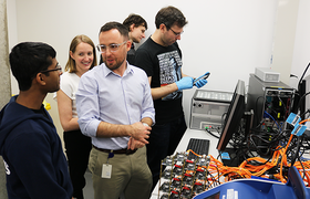 KCCG installs their PromethION sequencer